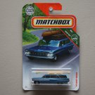 Matchbox 2018 MBX Road Trip '59 Chevy Wagon (blue)