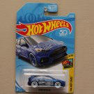 Hot Wheels 2018 HW Art Cars '16 Ford Focus RS (blue)
