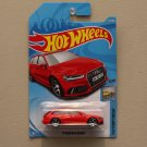 Hot Wheels 2018 Factory Fresh '17 Audi RS 6 Avant (red) (SEE CONDITION)