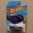 Hot Wheels 2018 HW Speed Graphics Corvette C7R (blue)