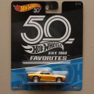Hot Wheels 2018 50th Anniversary Favorites Series '69 Camaro