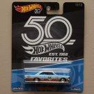 Hot Wheels 2018 50th Anniversary Favorites Series '65 Ford Galaxie