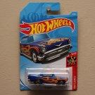 Hot Wheels 2019 HW Flames '57 Chevy (blue)