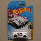 Hot Wheels 2018 Checkmate Volkswagen Beetle (white)