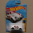 Hot Wheels 2018 Checkmate Volkswagen Beetle (white) (SEE CONDITION)