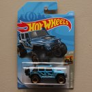 Hot Wheels 2019 Baja Blazers '17 Jeep Wrangler (blue)