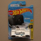 Hot Wheels 2018 Experimotors Zoom In (white) (Works With GoPro Hero Session 5)