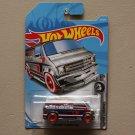 Hot Wheels 2019 Super Chromes Custom '77 Dodge Van (chrome) (SEE CONDITION)