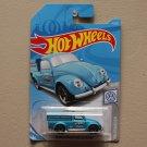 Hot Wheels 2019 Volkswagen '49 Volkswagen Beetle Pickup (blue) (SEE CONDITION)