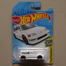 Hot Wheels 2019 HW Speed Graphics '90 Honda Civic EF (white)