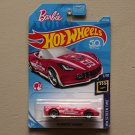 Hot Wheels 2018 HW Screen Time '14 Corvette Stingray Convertible (Barbie) (pink) (SEE CONDITION)
