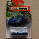 Matchbox 2018 MBX Road Trip Porsche Panamera (blue) (SEE CONDITION)