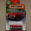 Matchbox 2018 MBX Road Trip '63 Austin Healey Roadster (red)