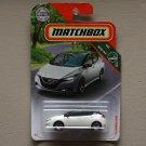 Matchbox 2018 MBX Road Trip '18 Nissan Leaf (white)