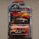 Matchbox 2018 Jurassic World '93 Jeep Wrangler #29 (SEE CONDITION)
