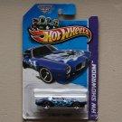 Hot Wheels 2013 HW Showroom '73 Pontiac Firebird (blue) (SEE CONDITION)