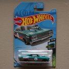 Hot Wheels 2019 Speed Blur '64 Chevy Chevelle SS (teal)