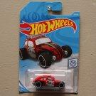 Hot Wheels 2019 Volkswagen Custom Volkswagen Beetle (red)