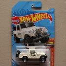 Hot Wheels 2019 HW Hot Trucks '67 Jeepster Commando (ivory)