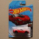 Hot Wheels 2019 HW Roadsters Corvette C7 Z06 Convertible (red)