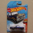 Hot Wheels 2019 HW Hot Trucks '78 Dodge Li'l Red Express Pickup Truck (blue)