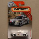 Matchbox 2019 MBX Rescue Dodge Charger Pursuit (white) (Royal Canadian Mounted Police)