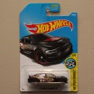 Hot Wheels 2017 HW Speed Graphics '15 Dodge Charger SRT Hellcat (black) (SEE CONDITION)