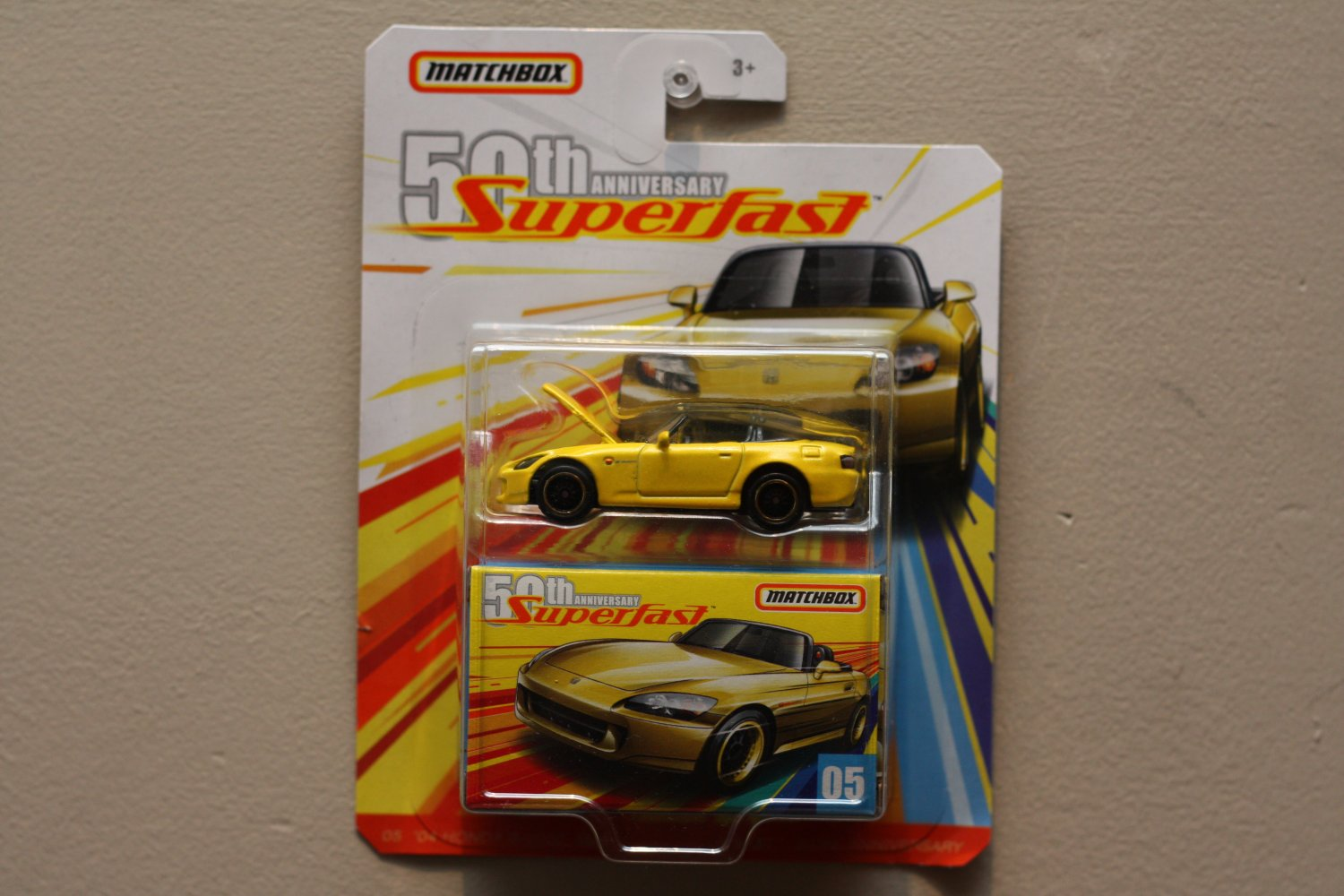Matchbox 2019 50th Anniversary Superfast '04 Honda S2000