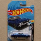 Hot Wheels 2019 Rod Squad '69 Dodge Charger 500 (blue)