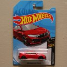 Hot Wheels 2019 Nightburnerz '18 Honda Civic Type R (red)