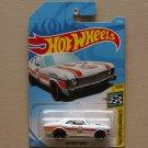 Hot Wheels 2019 HW Speed Graphics '68 Chevy Nova (gulf white)