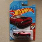 Hot Wheels 2019 Muscle Mania '18 Dodge Challenger SRT Demon (red)