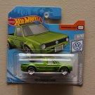 Hot Wheels 2019 Volkswagen Volkswagen Caddy (green) (SEE CONDITION)