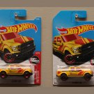 Hot Wheels 2017 HW Rescue '15 Ford F-150 (yellow) (BOTH WHEEL VARIATIONS)