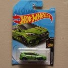 Hot Wheels 2019 Nightburnerz '16 Ford Focus RS (green) (SEE CONDITION)