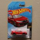 Hot Wheels 2019 Nightburnerz '18 Honda Civic Type R (red) (SEE CONDITION)