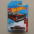 Hot Wheels 2019 HW Flames '66 Chevy Nova (black)