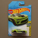 [CASTING ERROR] Hot Wheels 2019 HW Speed Graphics '18 Camaro SS (green)