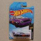 Hot Wheels 2019 Nightburnerz Dodge Challenger Drift Car (purple)
