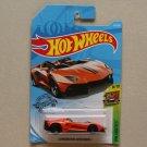 Hot Wheels 2019 HW Exotics Lamborghini Aventador J (orange) (SEE CONDITION)