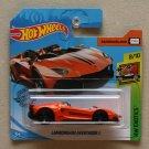 Hot Wheels 2019 HW Exotics Lamborghini Aventador J (orange)