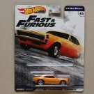 Hot Wheels 2019 Fast & Furious Premium 1/4 Mile Muscle '67 Chevrolet Camaro