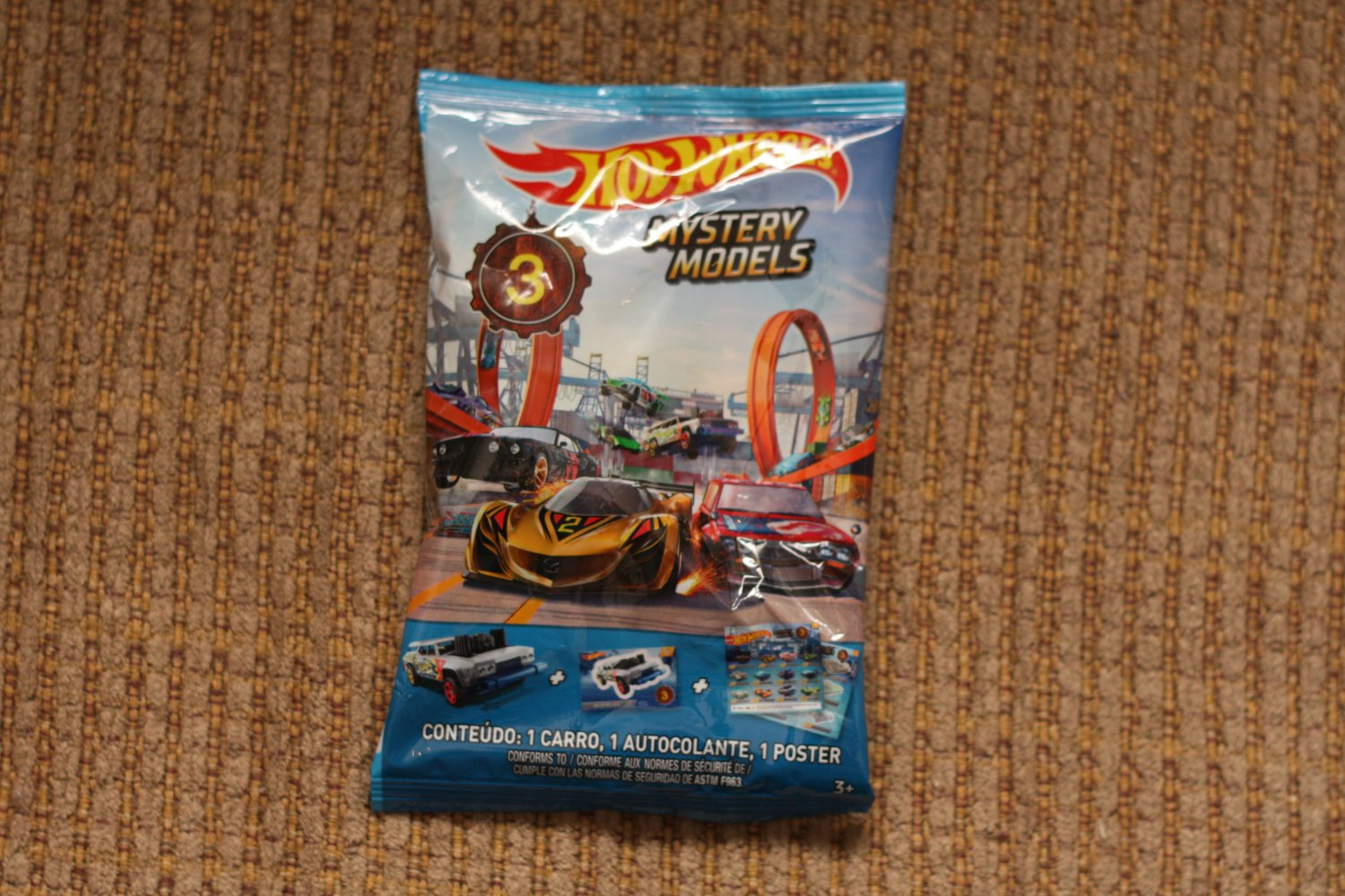 Hot Wheels 2019 Mystery Models (Series 3) '69 Ford Mustang Boss 302 (#1 of 12)