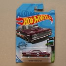 Hot Wheels 2019 Speed Blur '64 Chevy Chevelle (maroon)