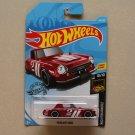 Hot Wheels 2019 Nightburnerz Datsun Fairlady 2000 (red)