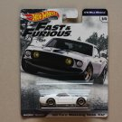 Hot Wheels 2019 Fast & Furious Premium 1/4 Mile Muscle '69 Ford Mustang Boss 302