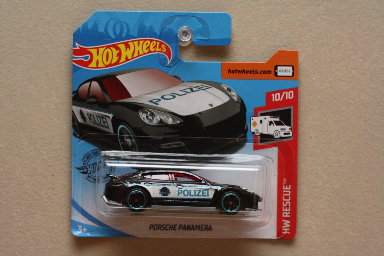 Hot Wheels 2019 HW Rescue Porsche Panamera (black)