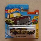 Hot Wheels 2019 HW Art Cars '83 Chevy Silverado (maroon)