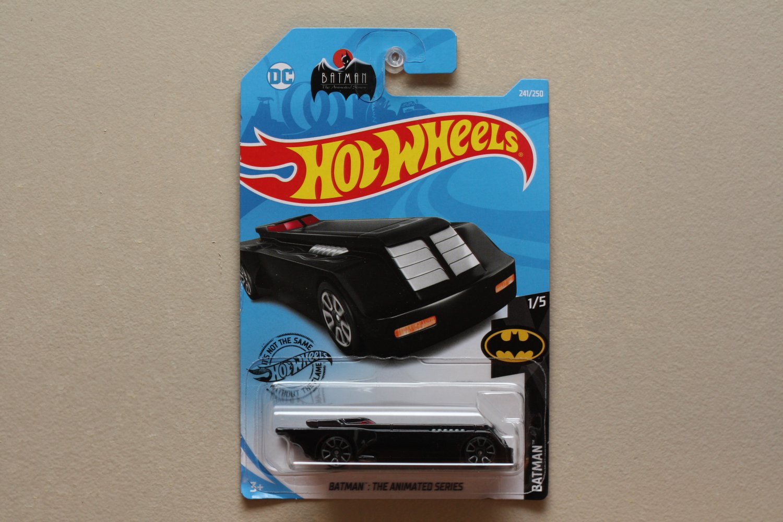 Hot Wheels 2019 Batman The Animated Series Batmobile (black) (Treasure Hunt)