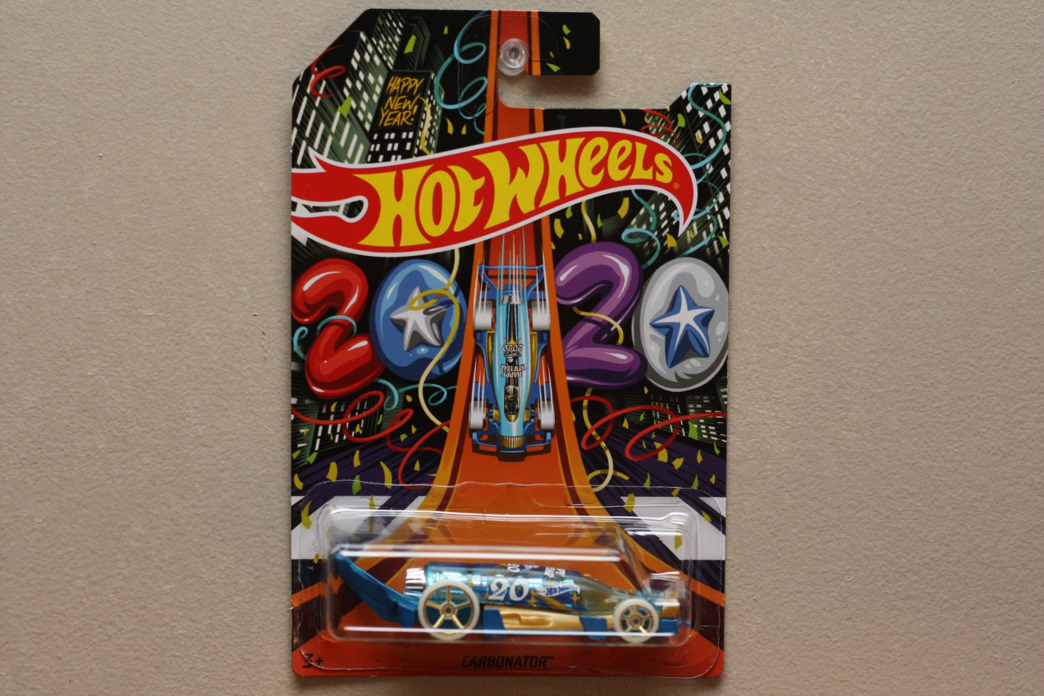 Hot Wheels 2019 Holiday Hot Rods Carbonator (Happy New Year 2020)